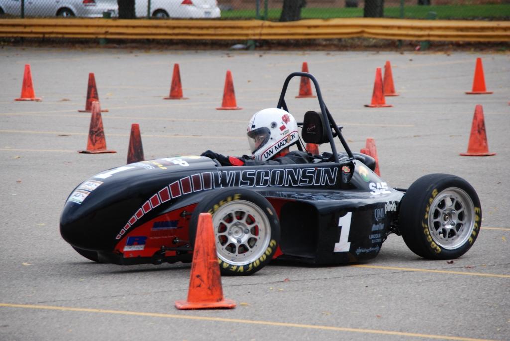 UW-Madison Formula SAE car
